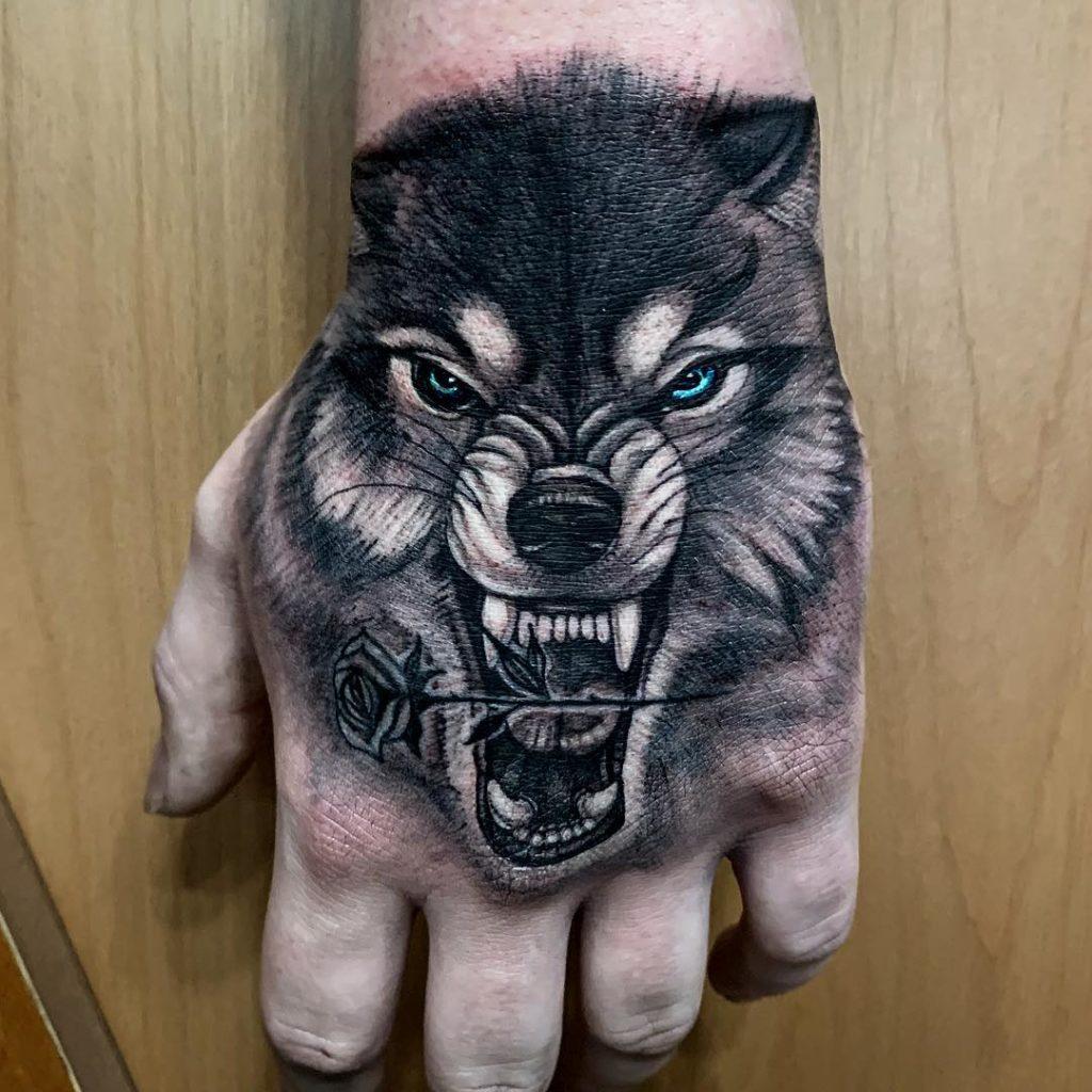 Wolf Hand Piece
